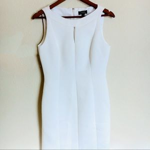 Tahari White Bandage Dress